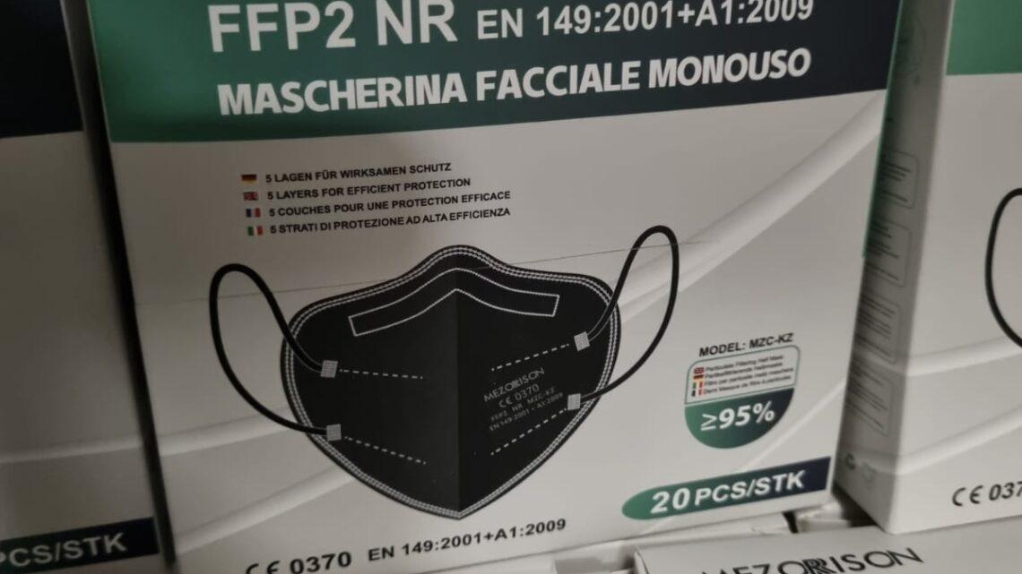 mascherine adulti ffp2 mezorison