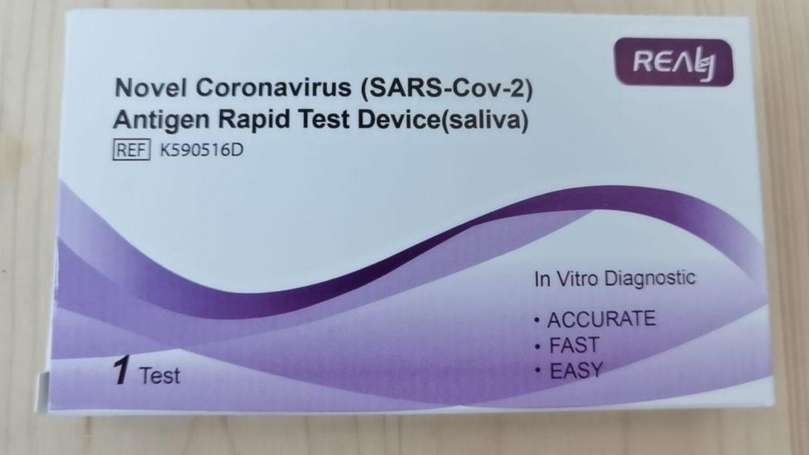 Novel Coronavirus Antigen rapid test device